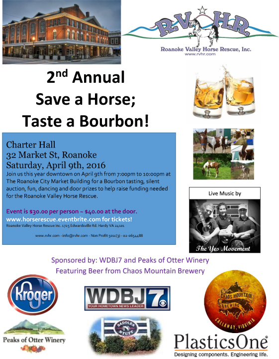Save a Horse Flyer2-18-16