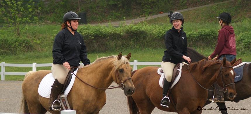 Dressage riders